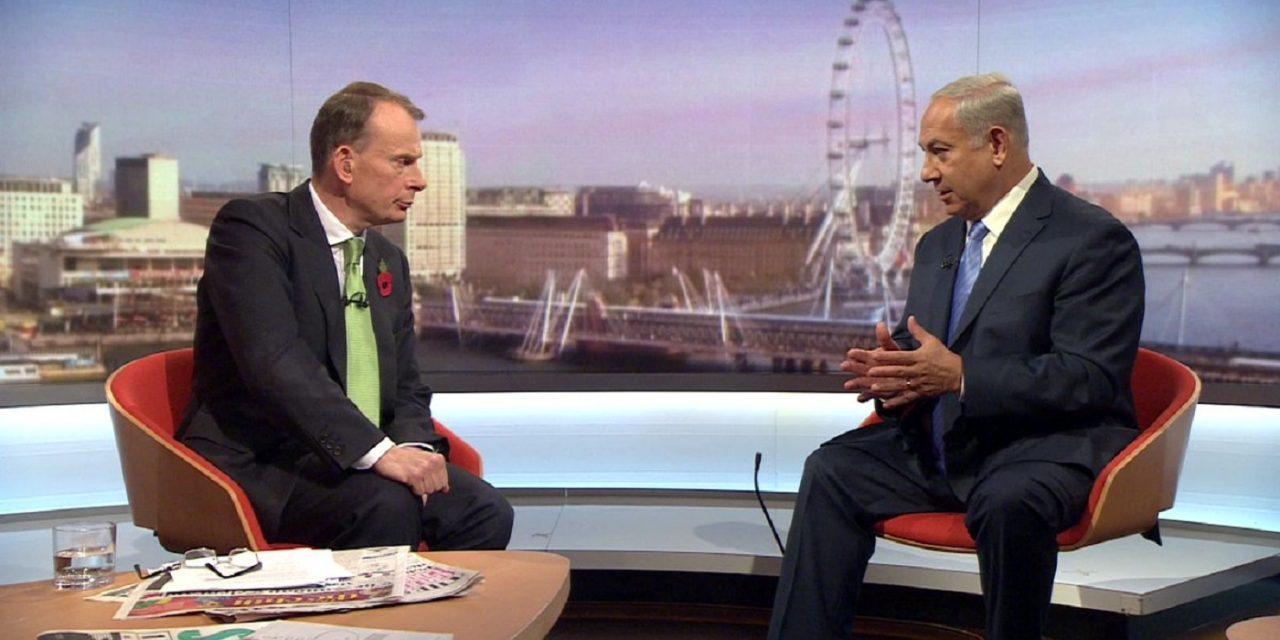 WATCH: Benjamin Netanyahu on BBC's Andrew Marr Show