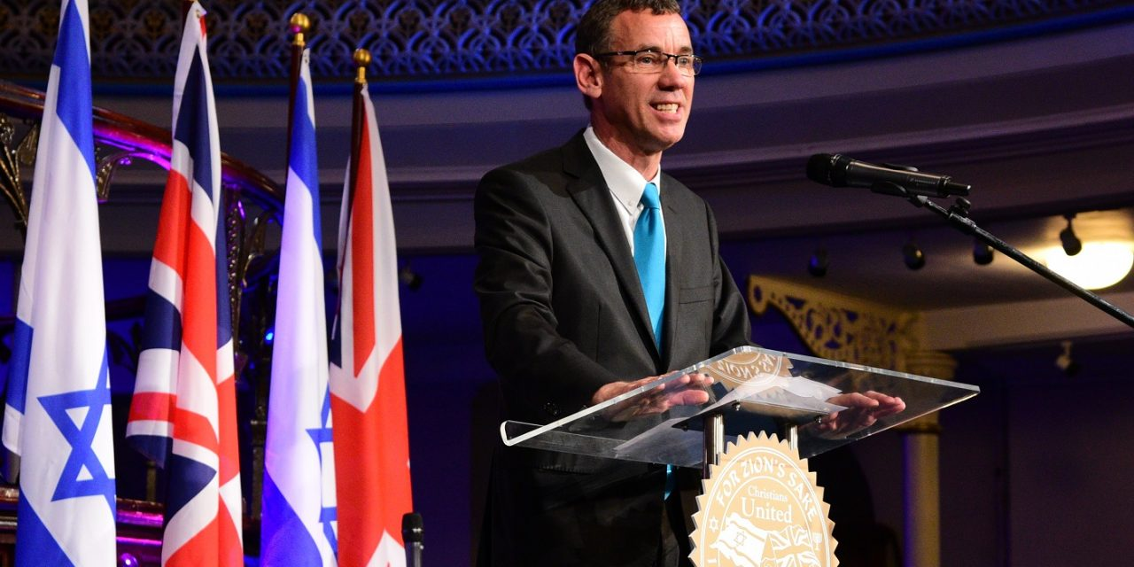 """A message from Ambassador Regev: """"The Balfour Declaration and Britain's Christian heritage"""""""