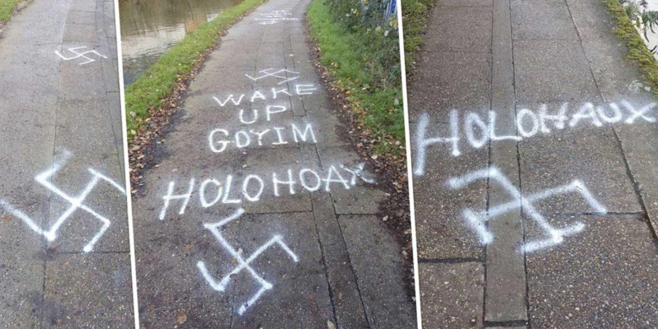 Anti-Semitic, Holocaust denial graffiti found on 400 meter stretch in West London