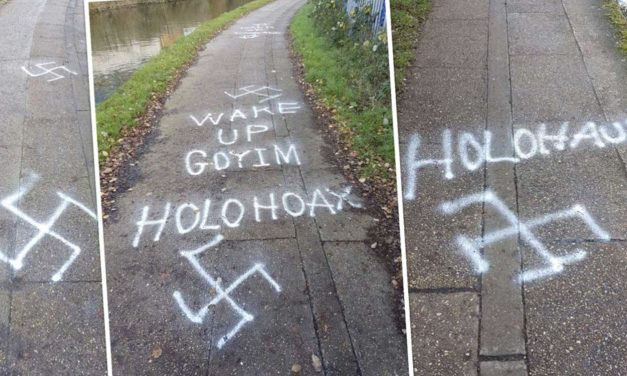 Anti-Semitic, Holocaust denial graffiti found on 400 meter stretch in West London