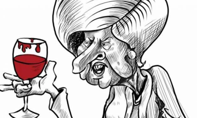 Palestinian Authority uses anti-Semitic cartoons of Theresa May after she shows support for Balfour