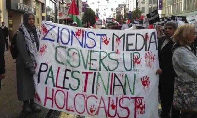 Anti-Semitism on display at anti-Balfour march in London