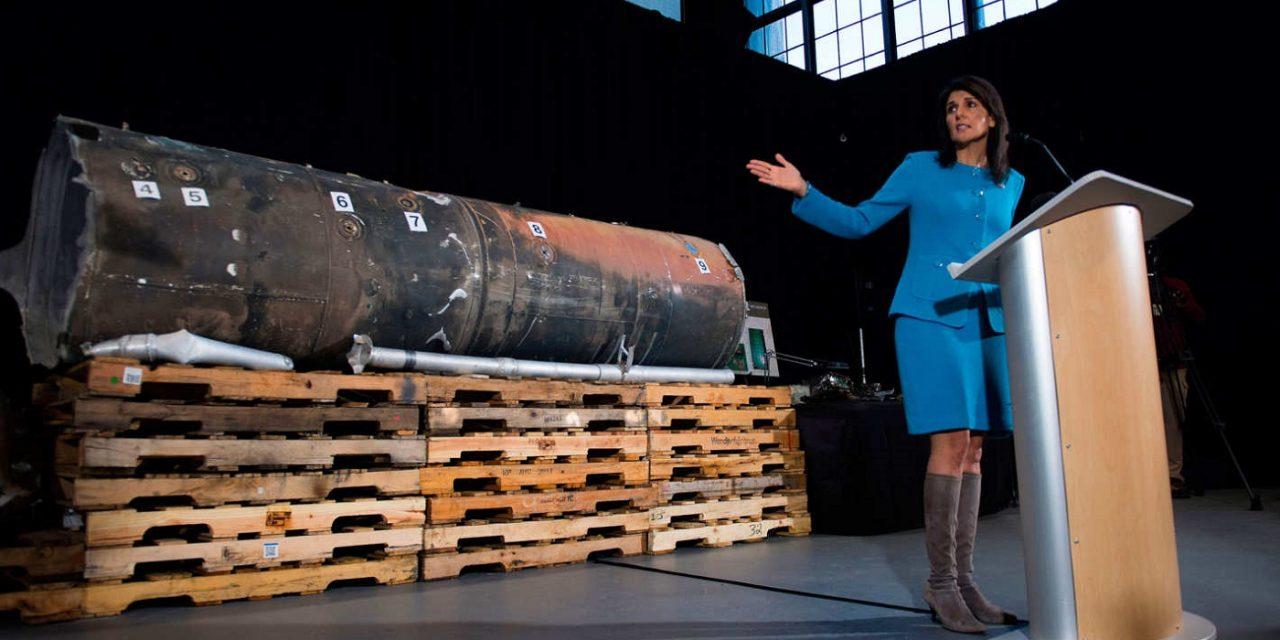 Nikki Haley: UN inspection on Iran shows 'violation after violation'