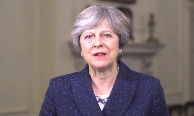 Theresa May gives Hanukkah message to Jewish community