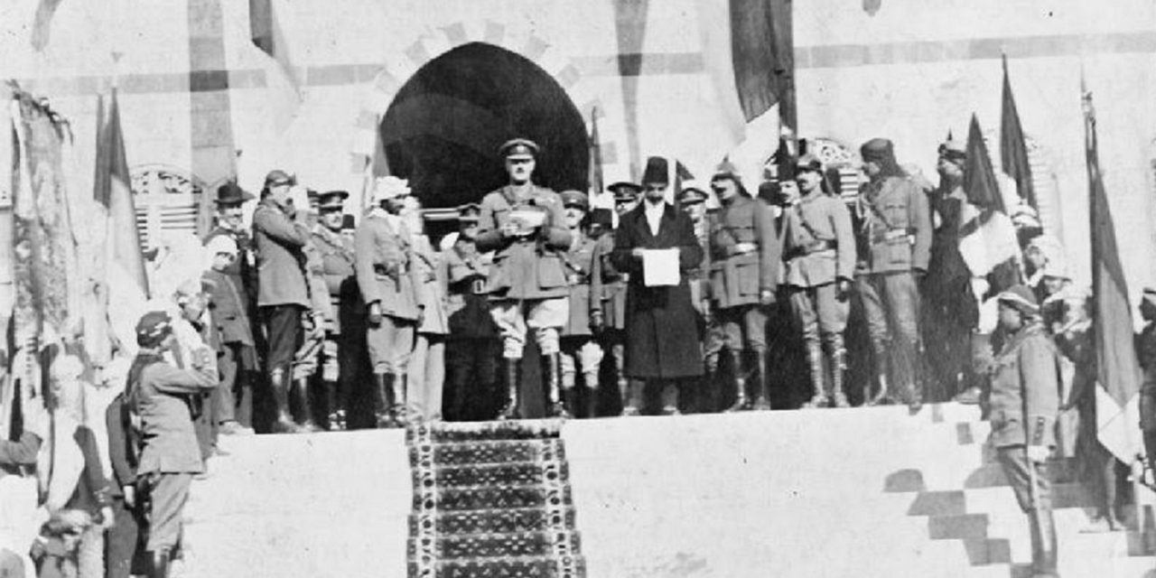 100 years to the day that Britain liberated Jerusalem, its time for Britain to honour Israel's capital