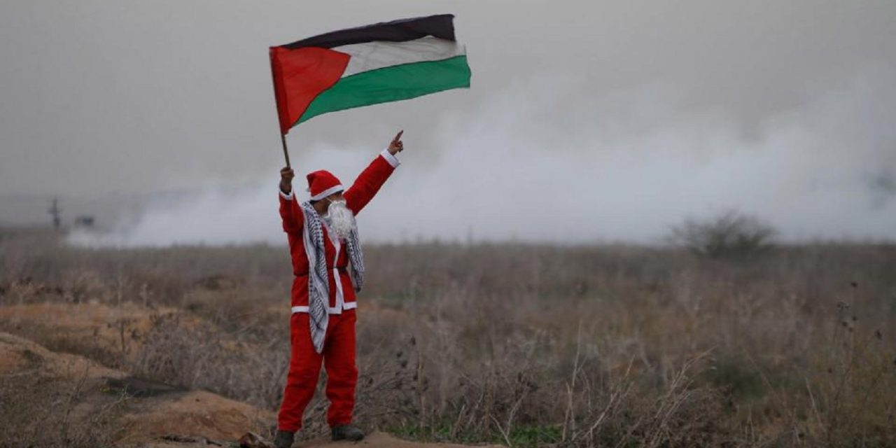 "Who believes in the Palestinian ""Santa""?"