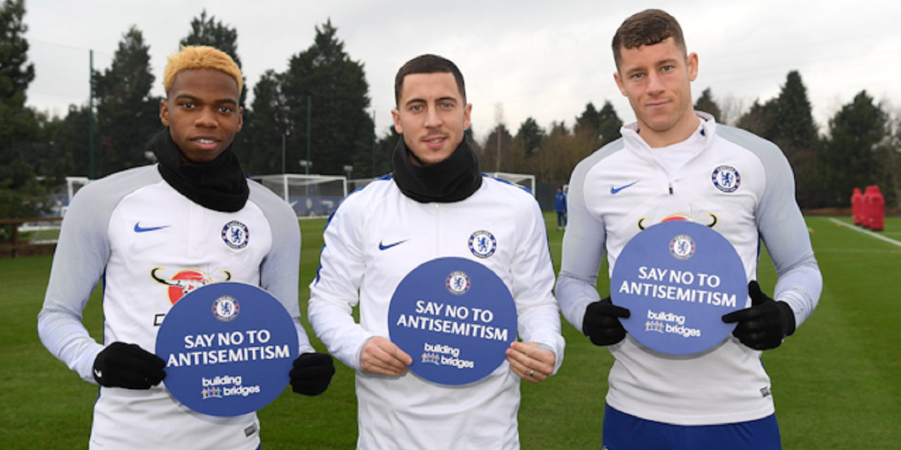Chelsea launch campaign to tackle anti-Semitism