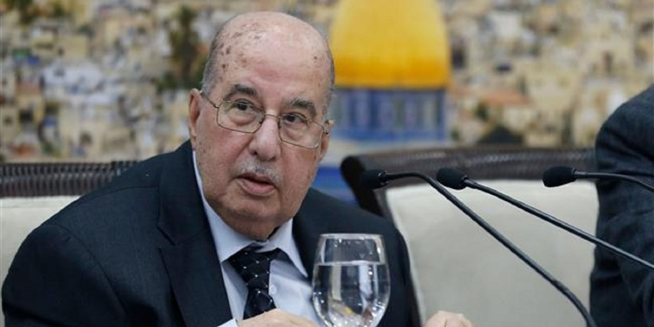 """Palestinian leaders call to suspend """"recognition of Israel"""""""
