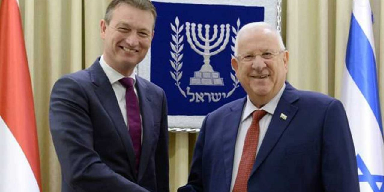 "Dutch Foreign Minister: ""We oppose BDS and anti-Semitism, we will fight them"""