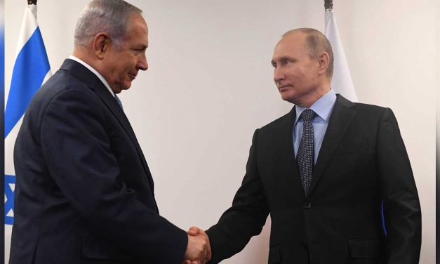 Netanyahu meets Putin in Moscow, talks Syria, Iran and honours WWII victims and heroes