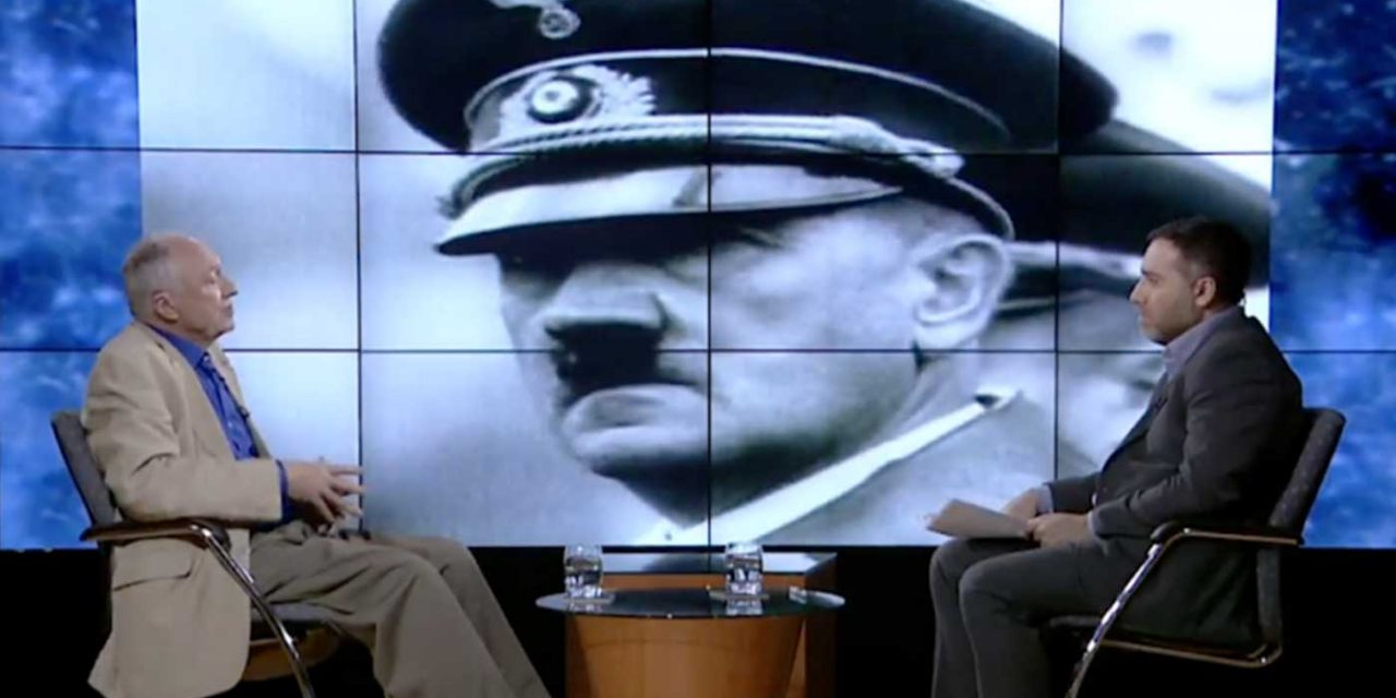 "Ken Livingstone marks Holocaust Memorial Day by talking ""Holocaust exploitation"" on Iranian TV"