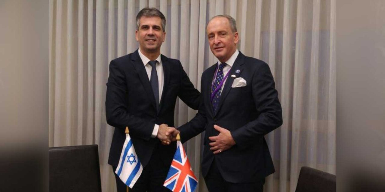 """Israel is """"perfect"""" trade partner after Brexit says Lord Mayor of London"""