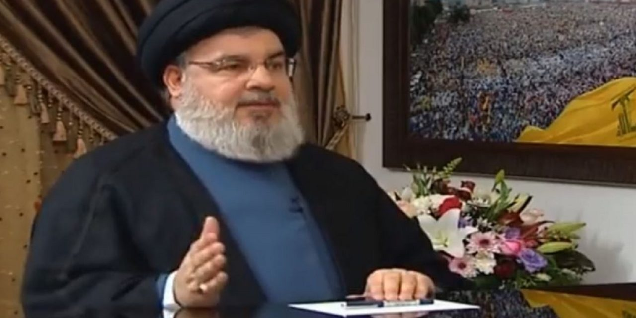 "Hezbollah leader confirms alliance with Fatah, Hamas and Iran to ""liberate"" Jerusalem"
