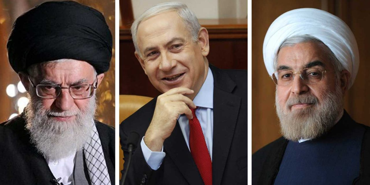 "Iranian leaders blame Israel for protests, Netanyahu calls accusations ""laughable"""