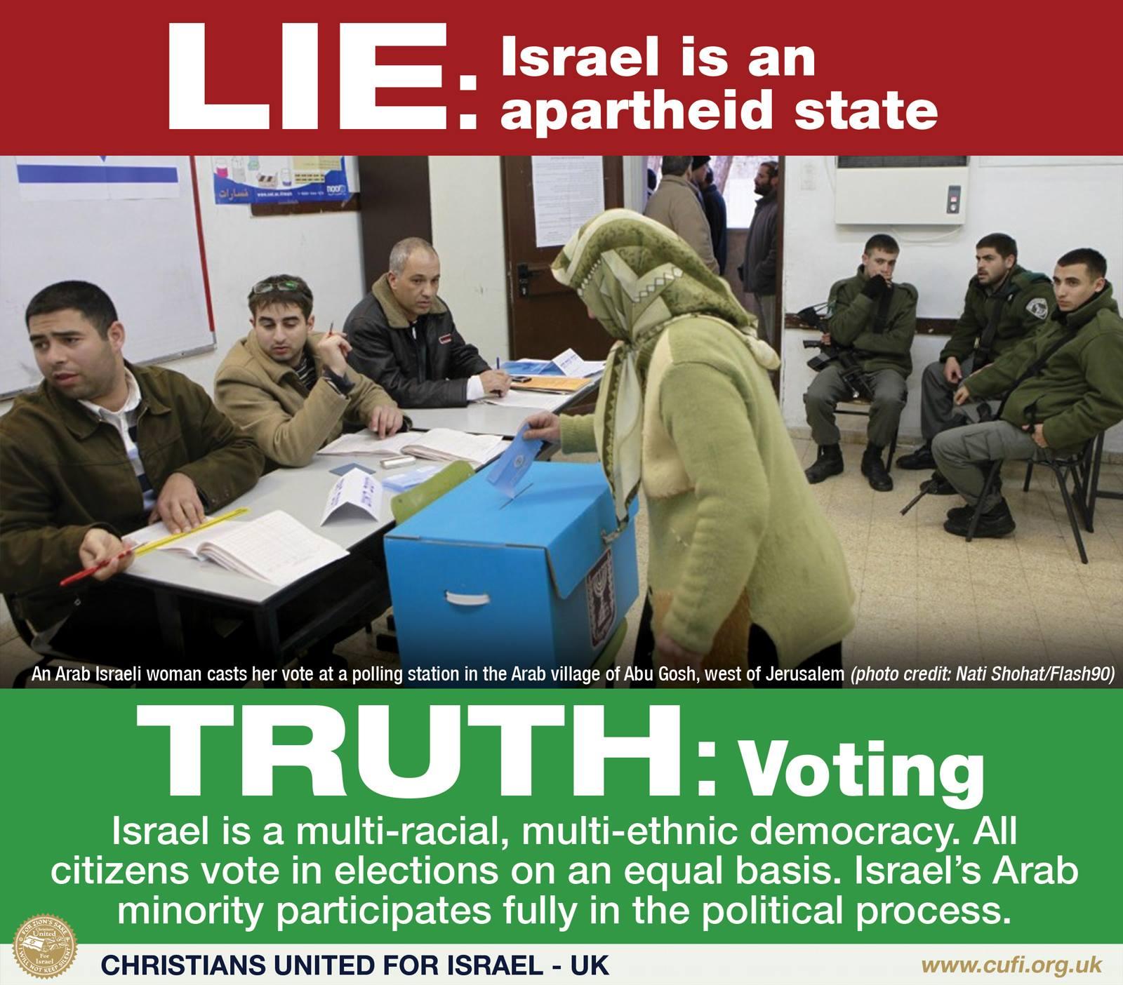 Israel is not apartheid 1