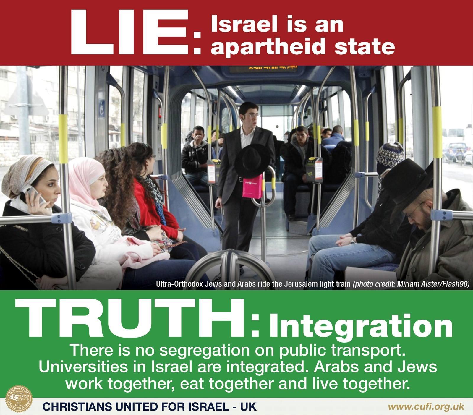 Israel is not apartheid 3