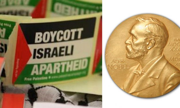 Concerns raised as BDS Movement nominated for Nobel Peace Prize