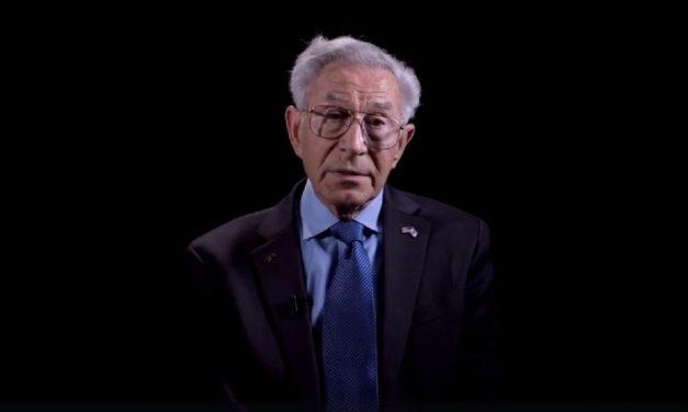 Holocaust survivor has important lesson for next generation