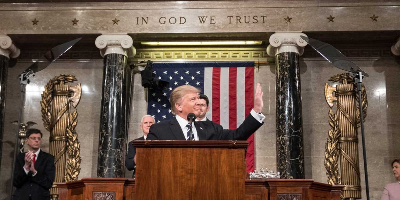 Trump's State of the Union addresses ISIS, Iran and anti-Israel bias at UN