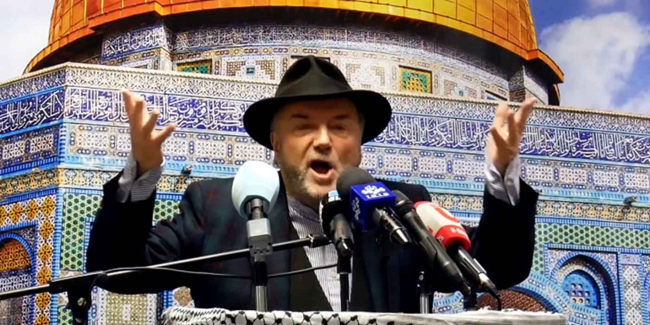 "George Galloway declares Israel ""should be no more"" at IHRC event"