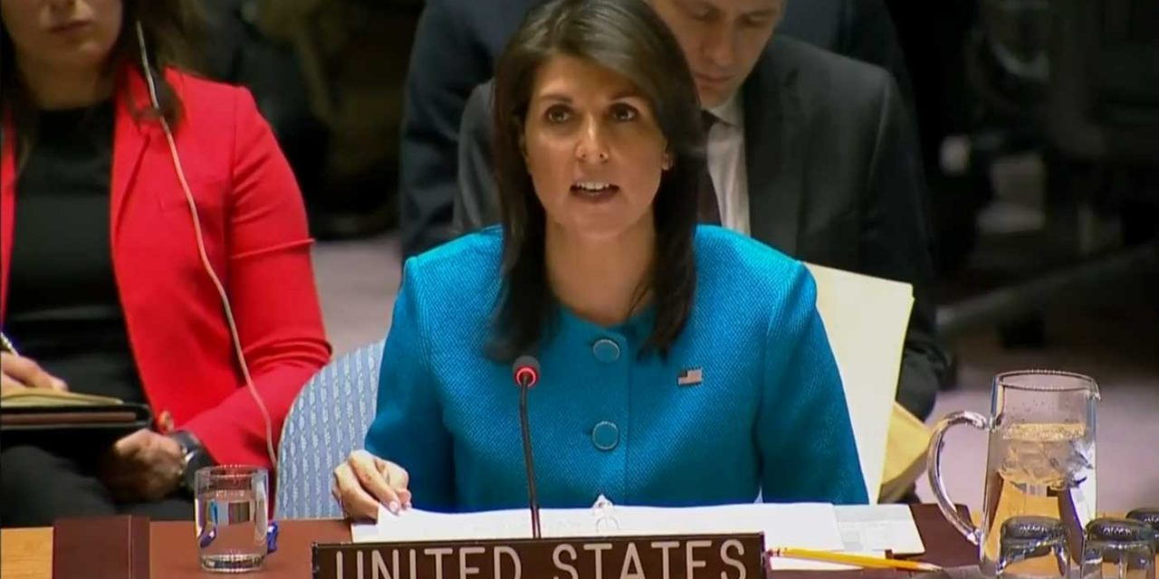 """Ambassador Haley slams Iran's """"aggression"""" says Israel """"rightly took action to defend itself"""""""