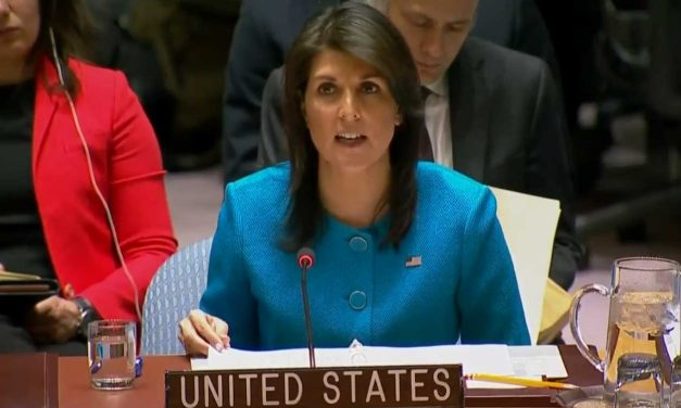 "Ambassador Haley slams Iran's ""aggression"" says Israel ""rightly took action to defend itself"""
