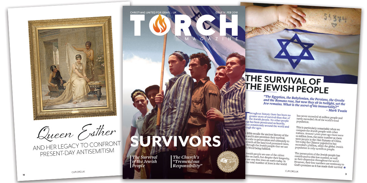 The survival of the Jewish people | Receive your free copy of TORCH Magazine