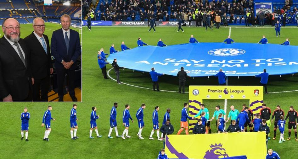 Chelsea's Roman Abramovich dedicates match to victims of the Holocaust