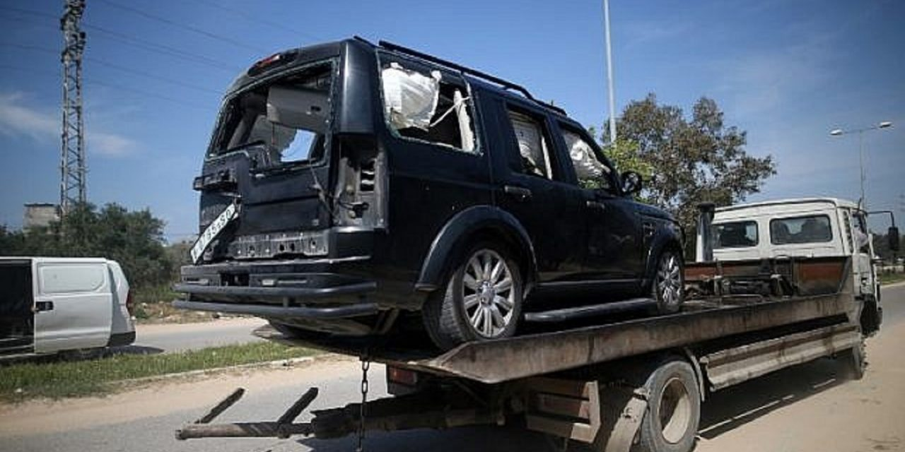 Palestinian PM survives assassination attempt as convoy is bombed during visit to Gaza
