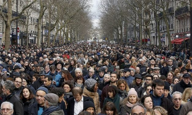 Thousands march in Paris after antisemitic murder of Jewish grandmother