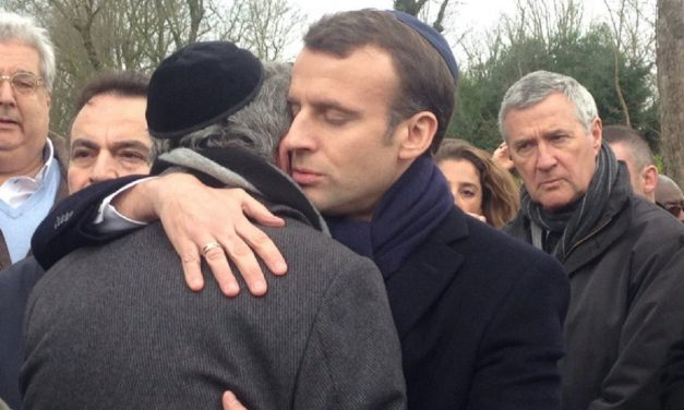 French President Macron attends funeral of murdered Holocaust survivor