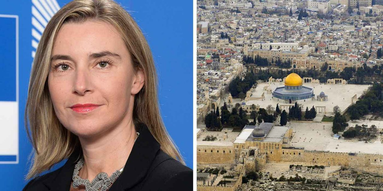 "EU praises Jordan's ""special role"" protecting Jerusalem's holy sites – despite denying Jewish rights"