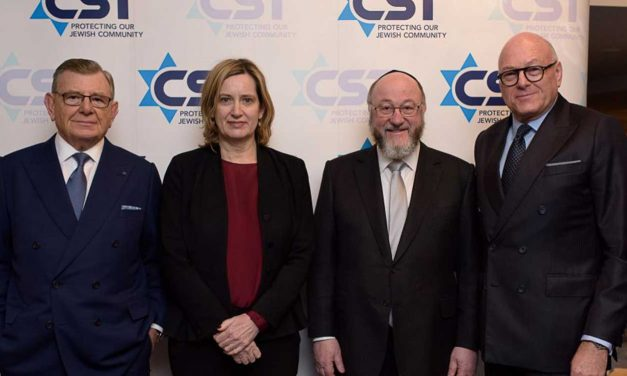 UK Home Secretary commits £13.4 million to protect Jewish synagogues and schools