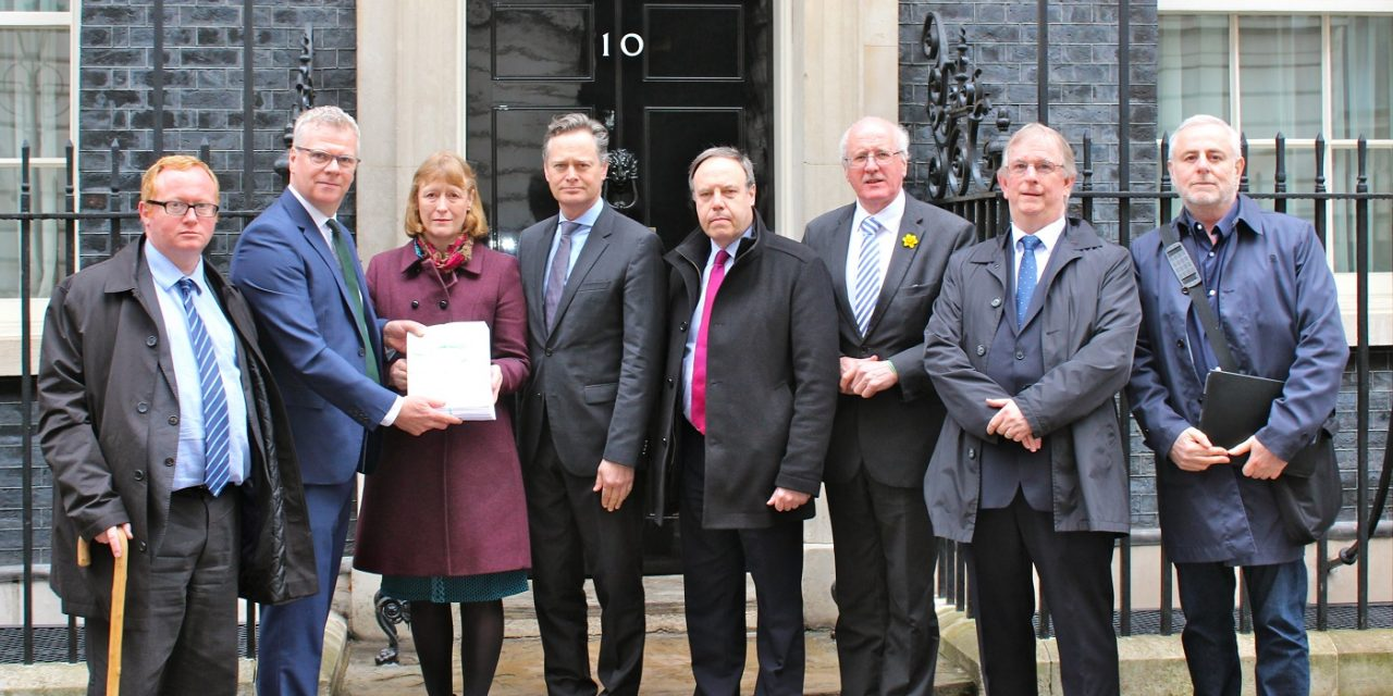 CUFI and partners deliver campaign to Downing Street calling for PM to STOP 'Israel Apartheid Week'