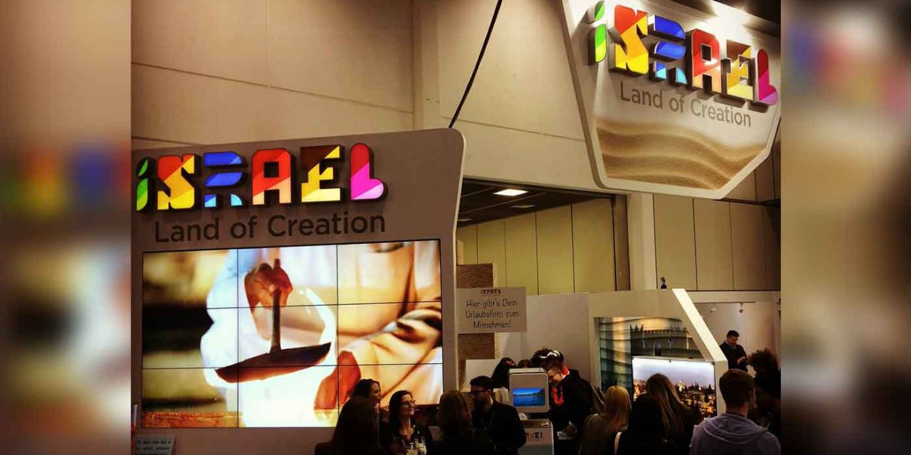 Three Arab German security guards suspended for harassing Israel stand at tourism fair