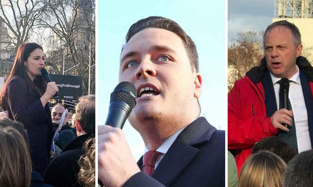 Labour MPs receive abuse and threats of deselection from Corbyn supporters for attending protest against antisemitism