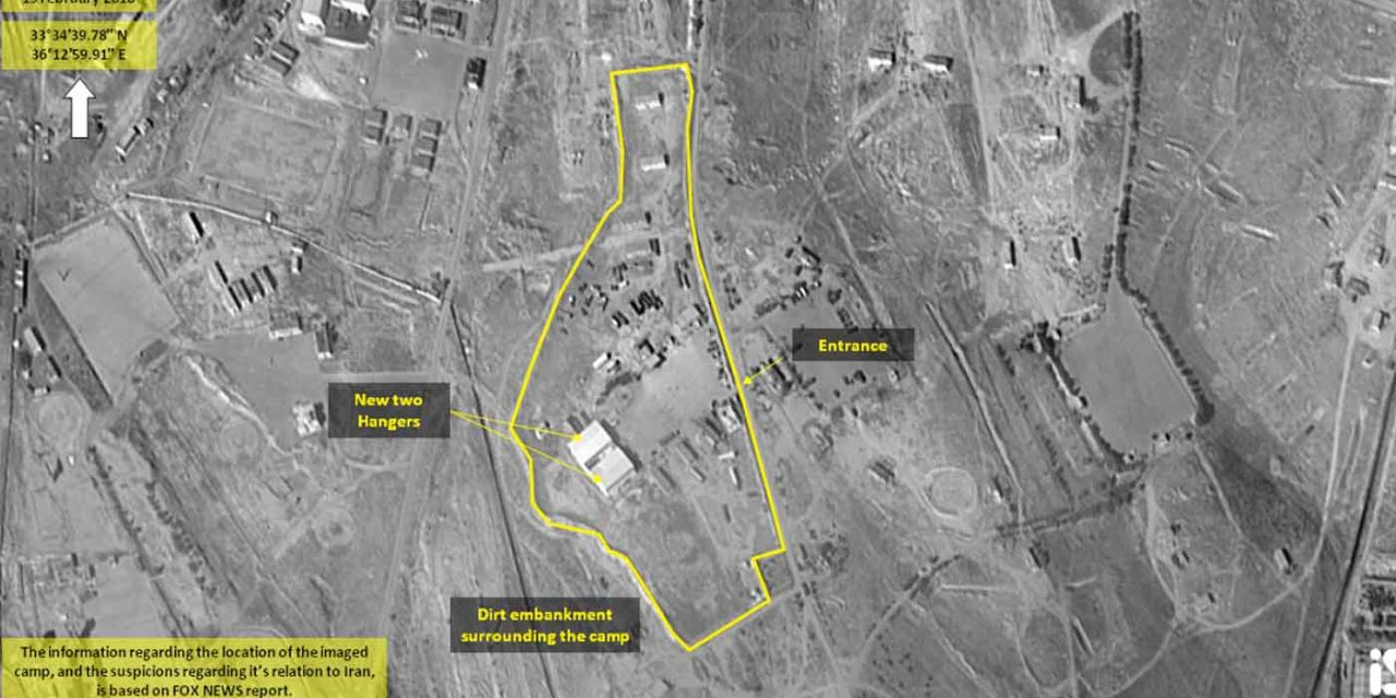 New satellite images expose potential Iranian military expansion in Syria