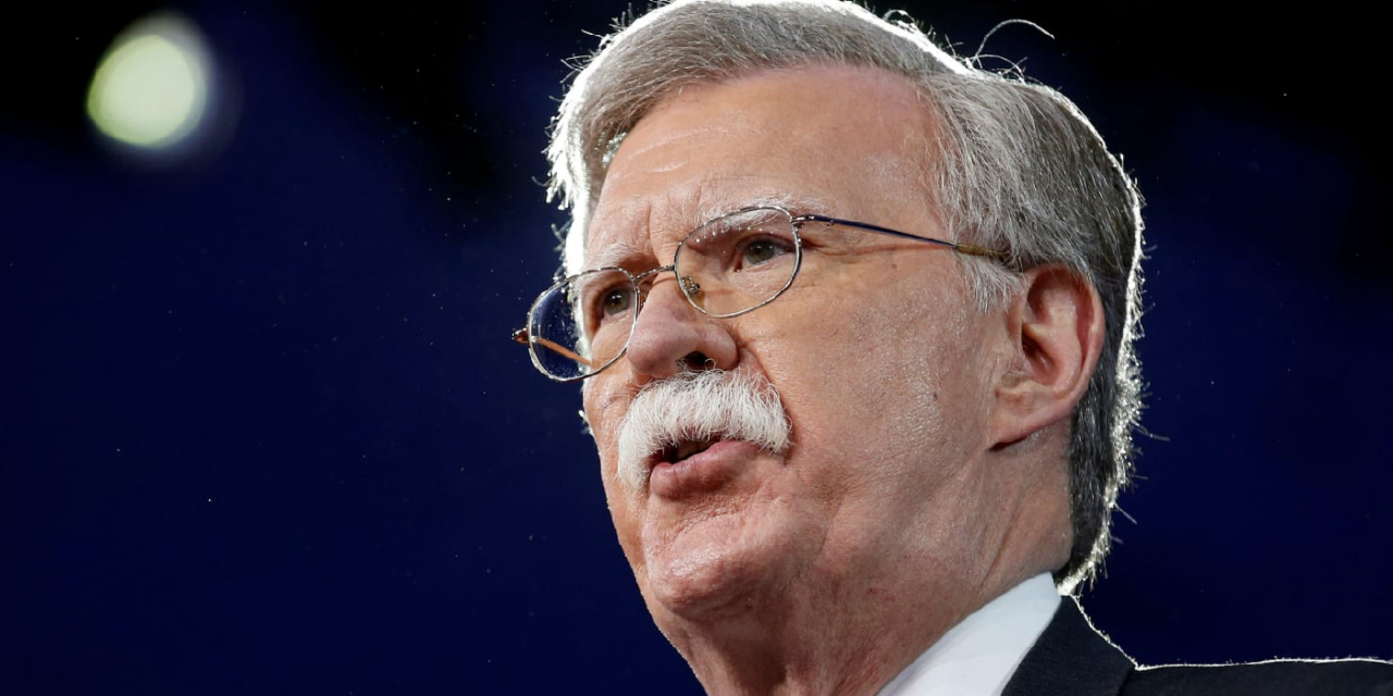 Trump's new National Security Advisor, John Bolton, is a friend of Israel