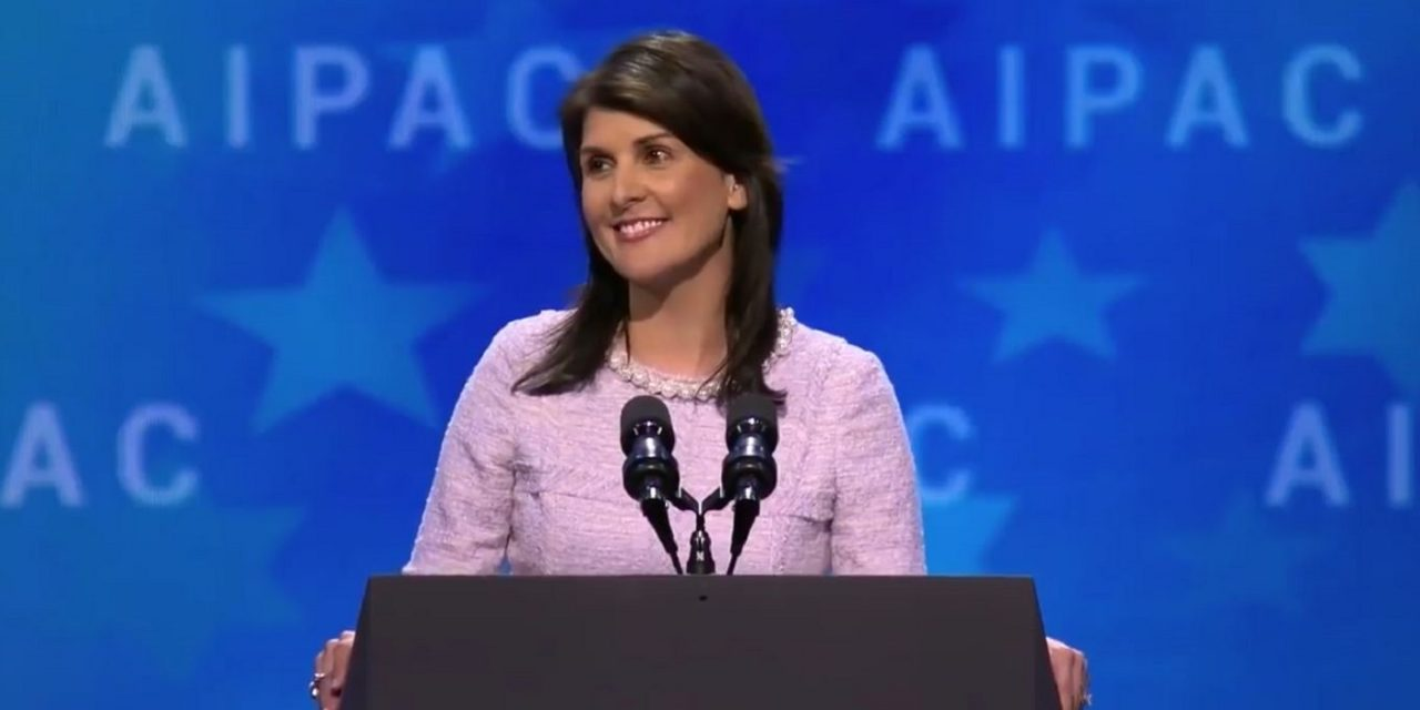"""Nikki Haley: """"Jerusalem was, is, and will always be the capital of Israel"""""""