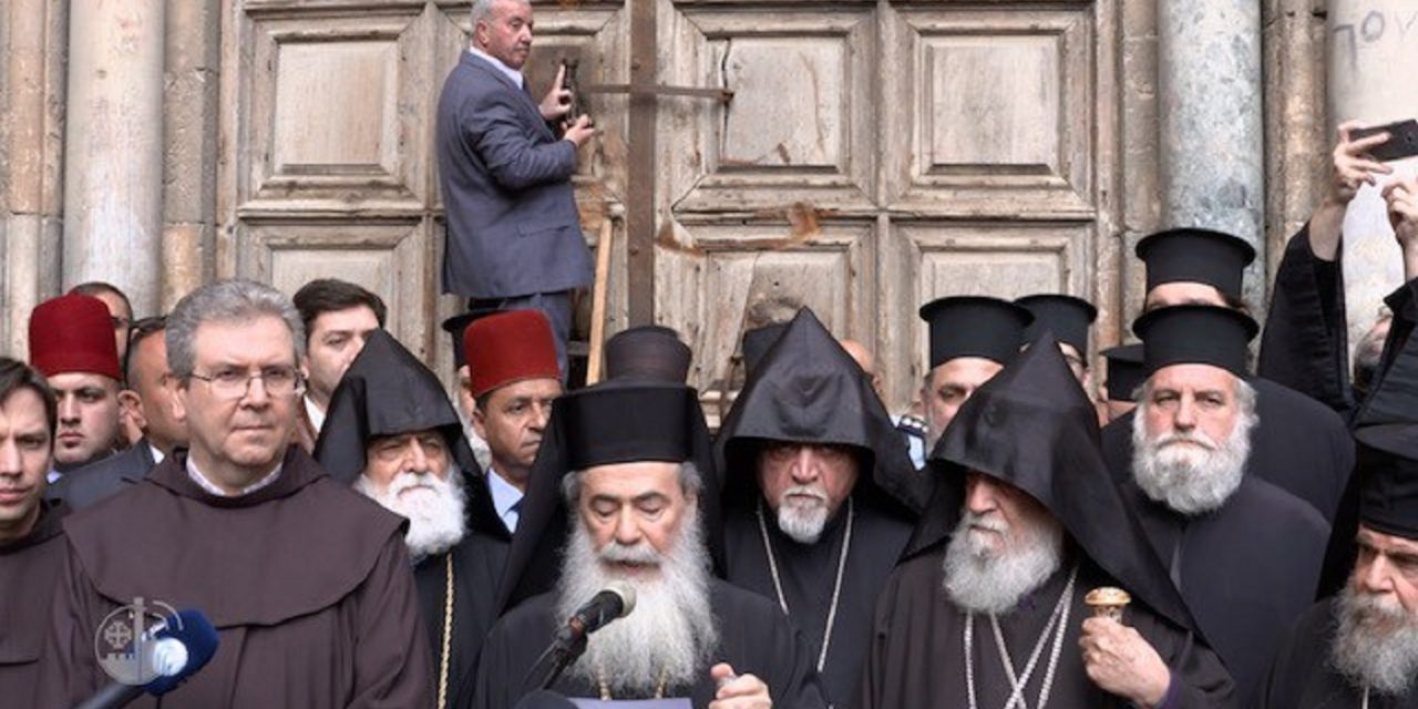 How Church of the Holy Sepulchre tax protest was used to demonise Israel