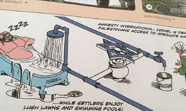 Parent outraged over anti-Semitic cartoon found in a Belgian geography schoolbook