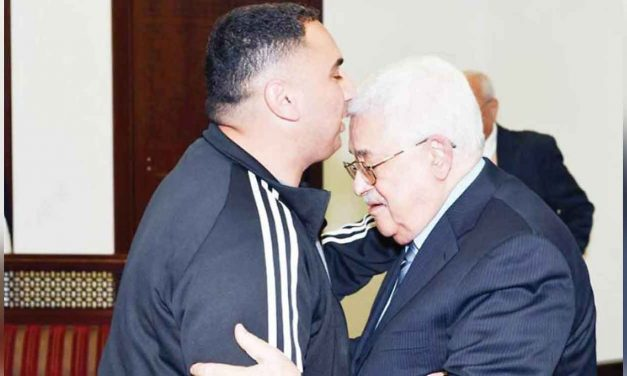 Abbas warmly welcomes terrorist home after release from Israeli prison
