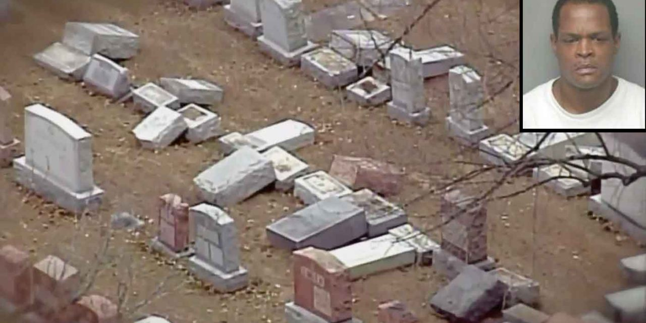 """US: Man admits toppling 130 Jewish tombstones, police say """"no evidence"""" of anti-Semitism"""