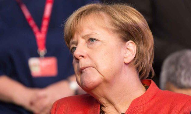 "Merkel talks of ""different type of anti-Semitism"""