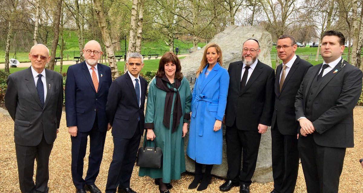 More than 1,200 attend Holocaust commemoration in Hyde Park