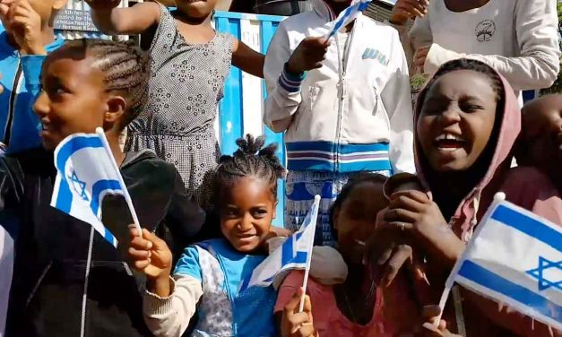 Watch: Ethiopian Jews celebrate Israel's 70th anniversary