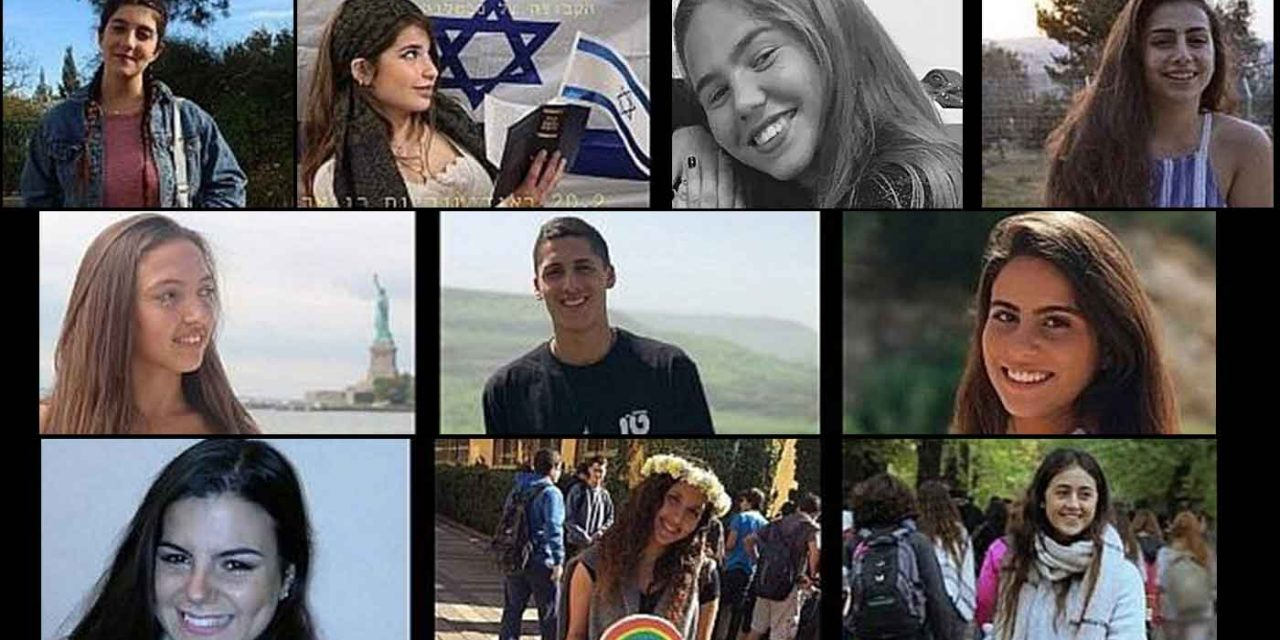 Israel mourns the loss of 10 Israeli teens killed in flash-floods while hiking