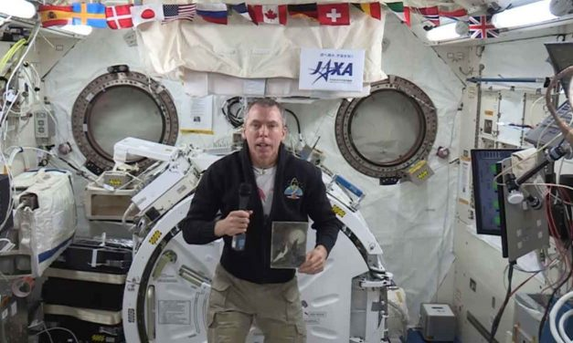 Astronaut gives Holocaust message from space for Yom HaShoah