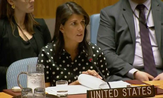 "Nikki Haley condemns Hamas's use of children as ""canon-fodder"""