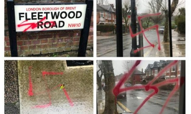 North London borough sees spate of swastikas daubed in community